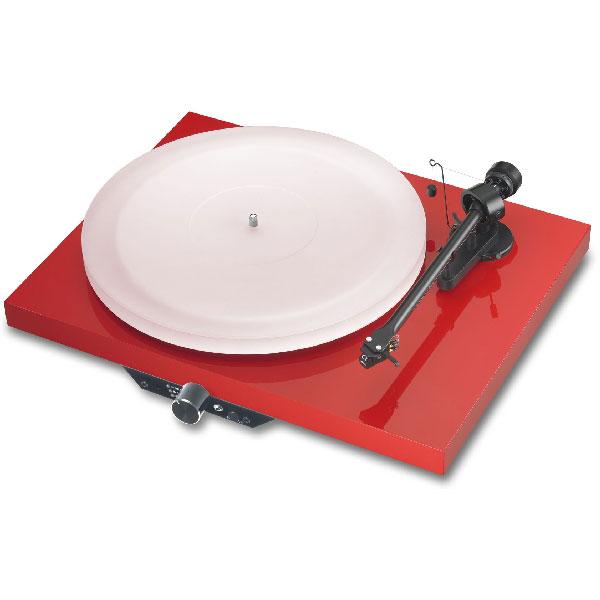 Pro-Ject Juke Box Esprit hochglanz rot Plattenspieler mit Verstärker 44034