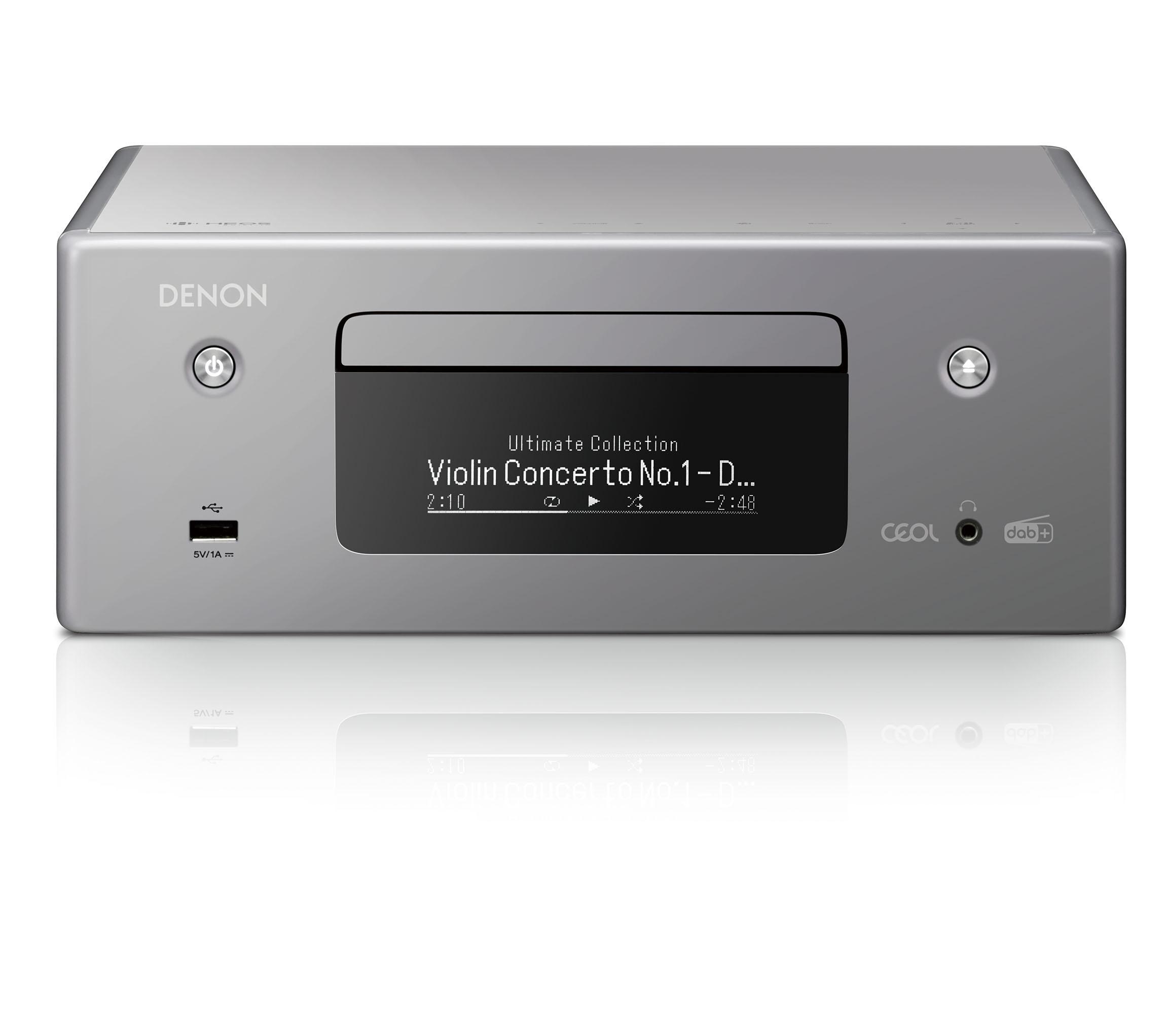 Denon RCD-N 11DAB grau Netzwerk-CD-Receiver 101283