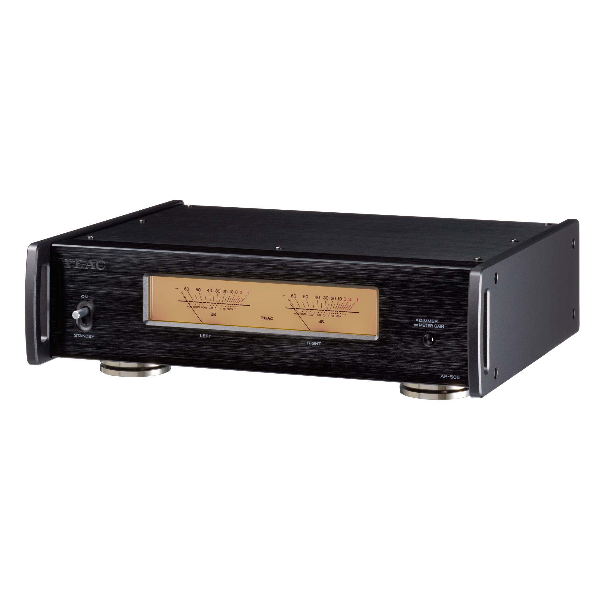 Teac AP-505 schwarz Stereo-Endverstärker 101132