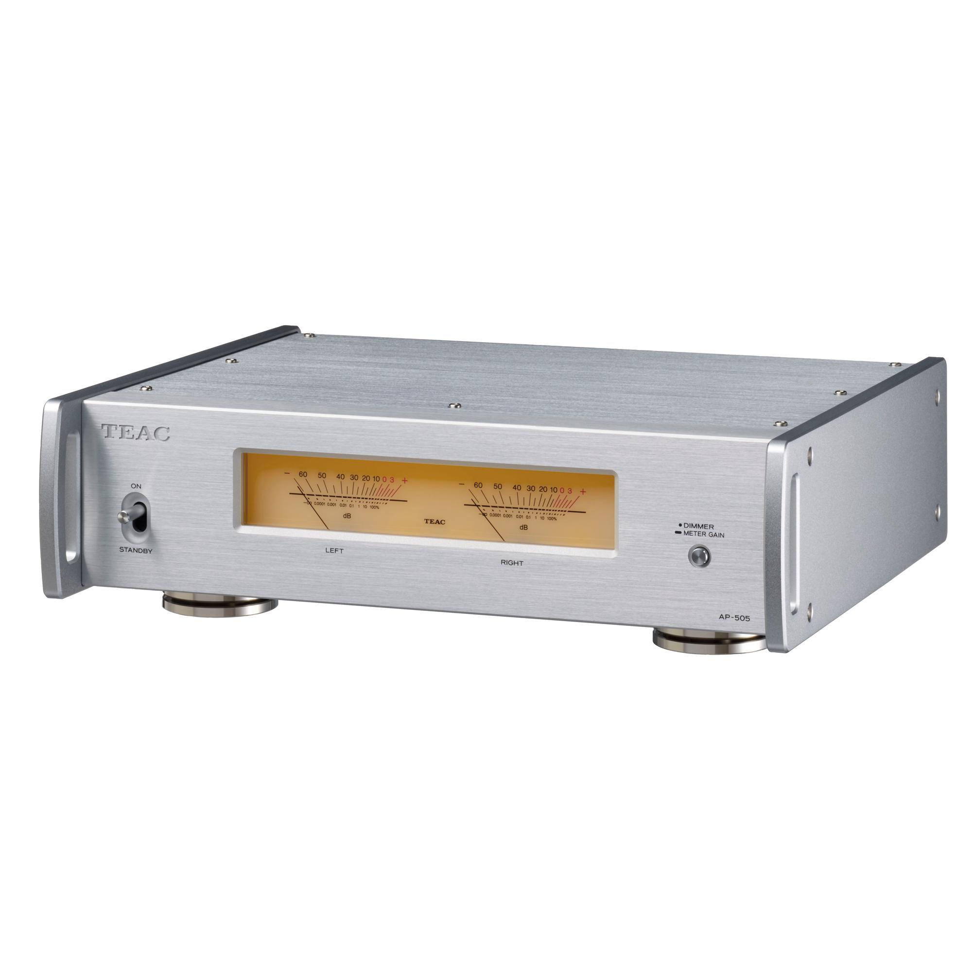 Teac AP-505 silber Stereo-Endverstärker 101133