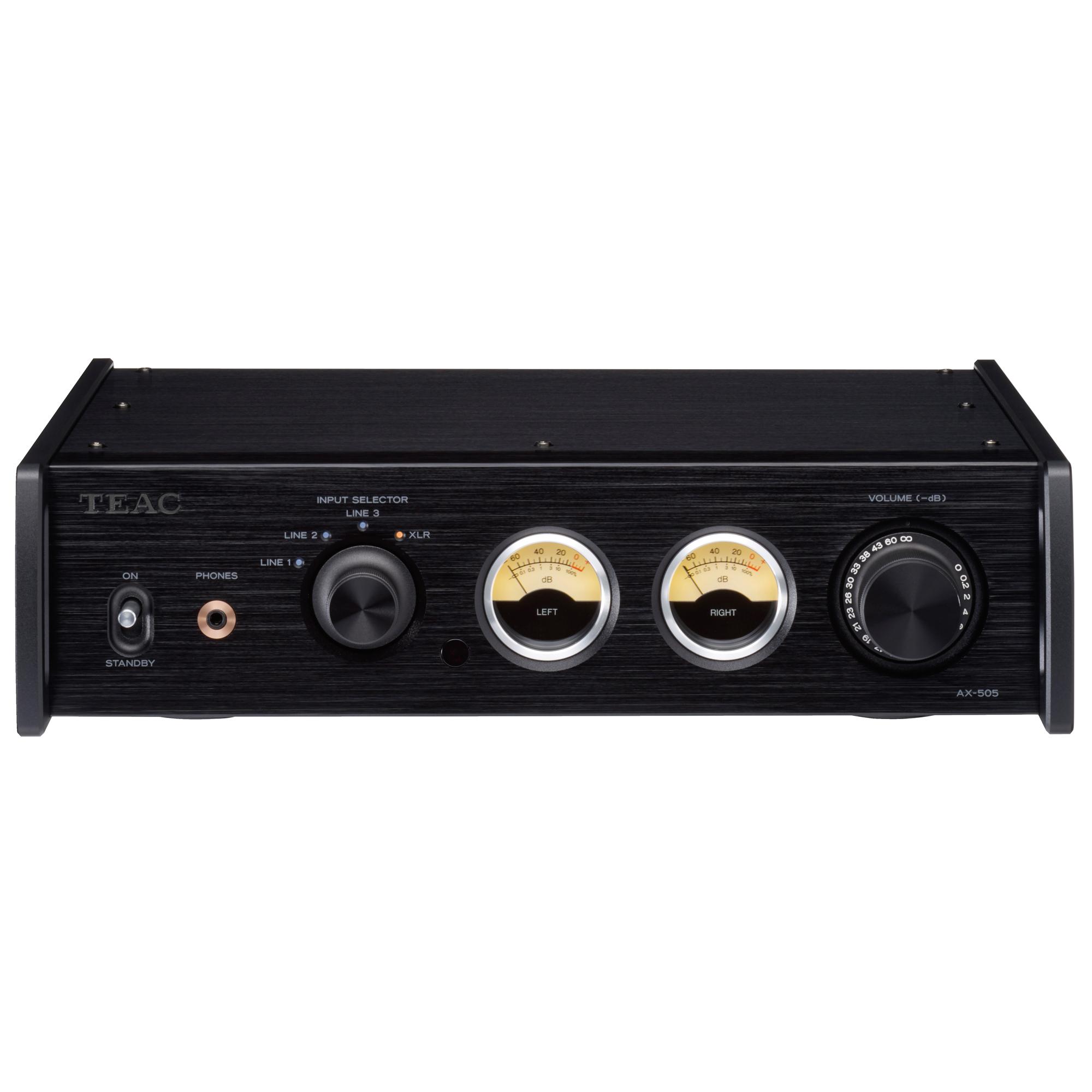 Teac AX-505 schwarz Stereo-Endverstärker 101134