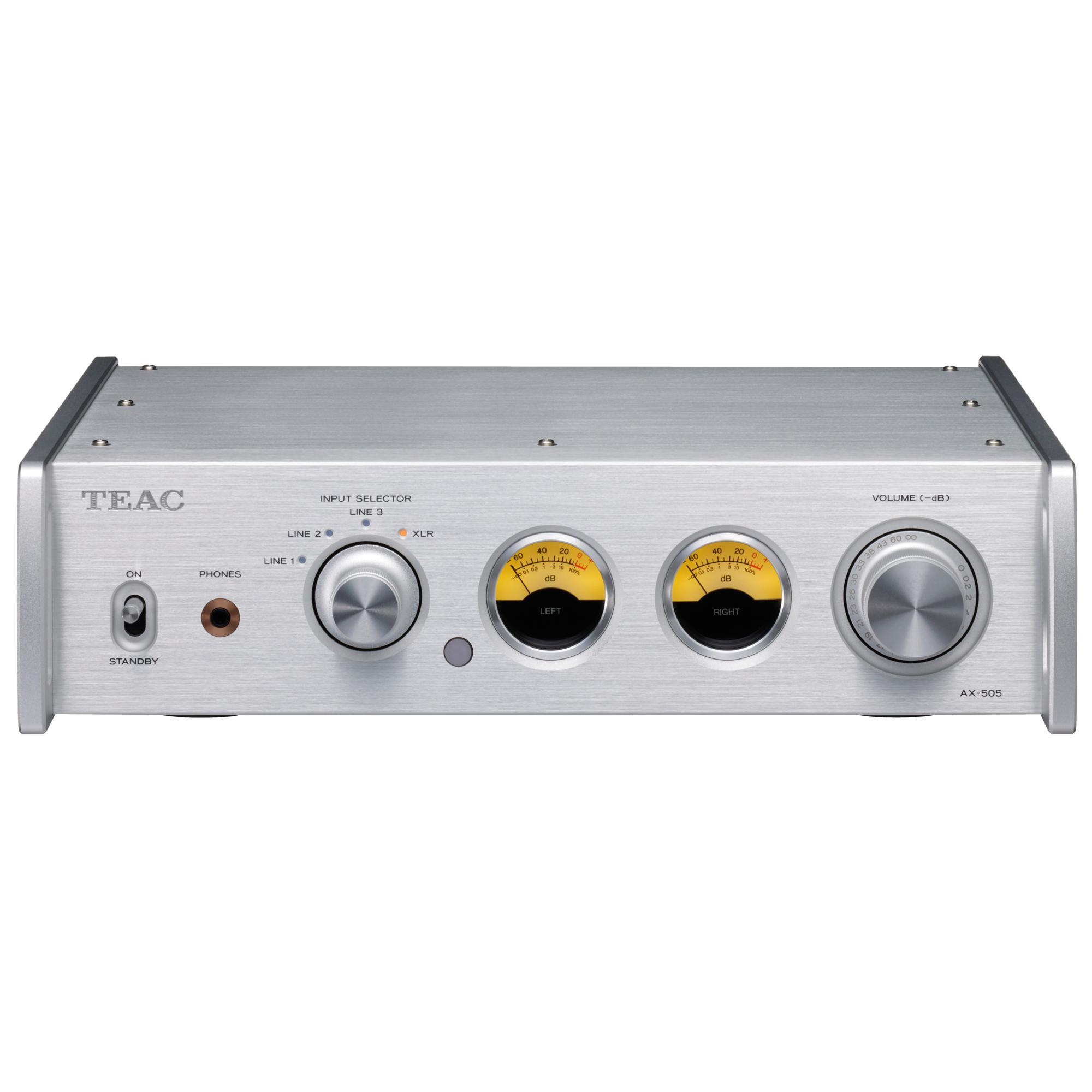 Teac AX-505 silber Stereo-Endverstärker 101135