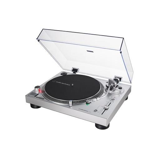 Audio Technica AT-LP 120X USB SV silber Plattenspieler