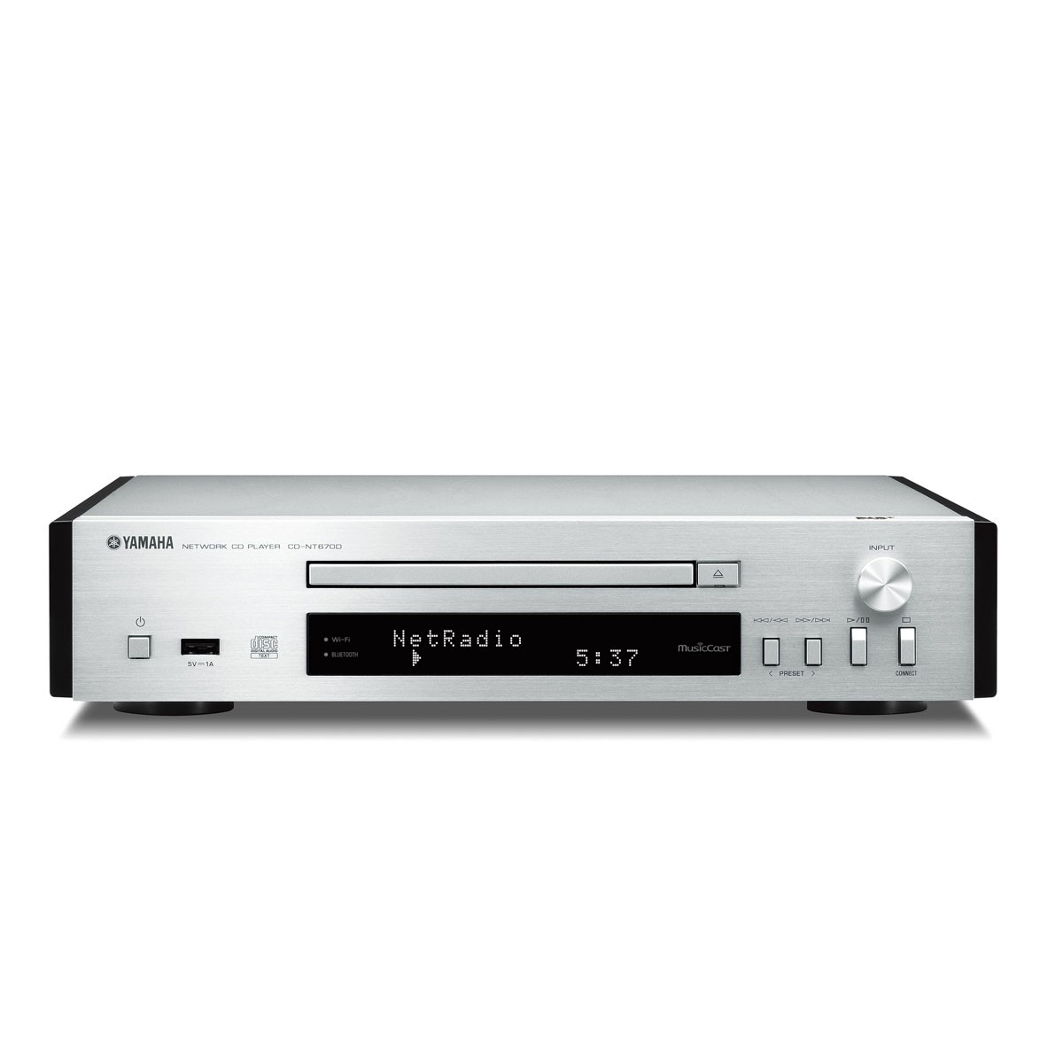 yamaha cd nt 670 dab silber cd player. Black Bedroom Furniture Sets. Home Design Ideas