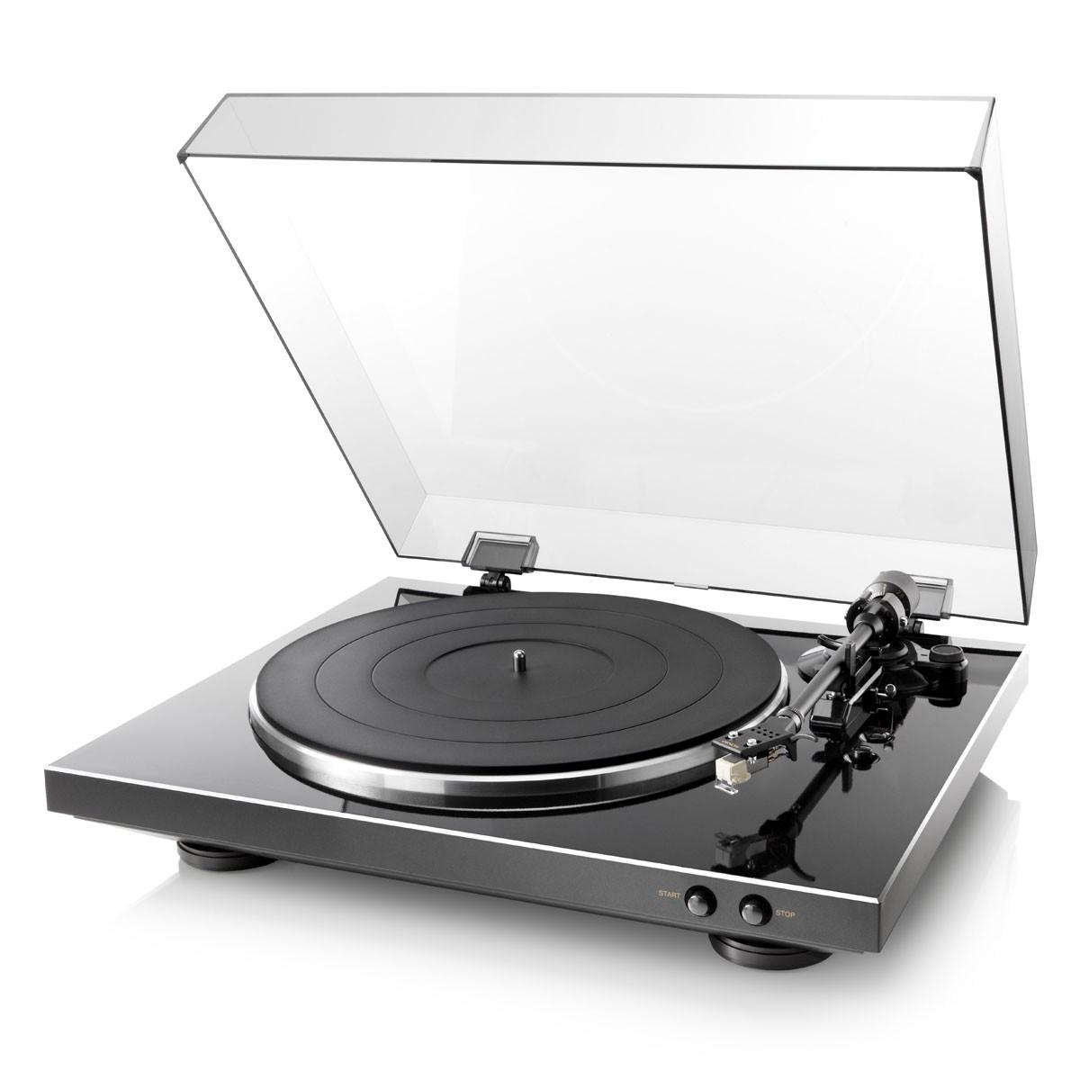 Denon DP-300 F schwarz Plattenspieler
