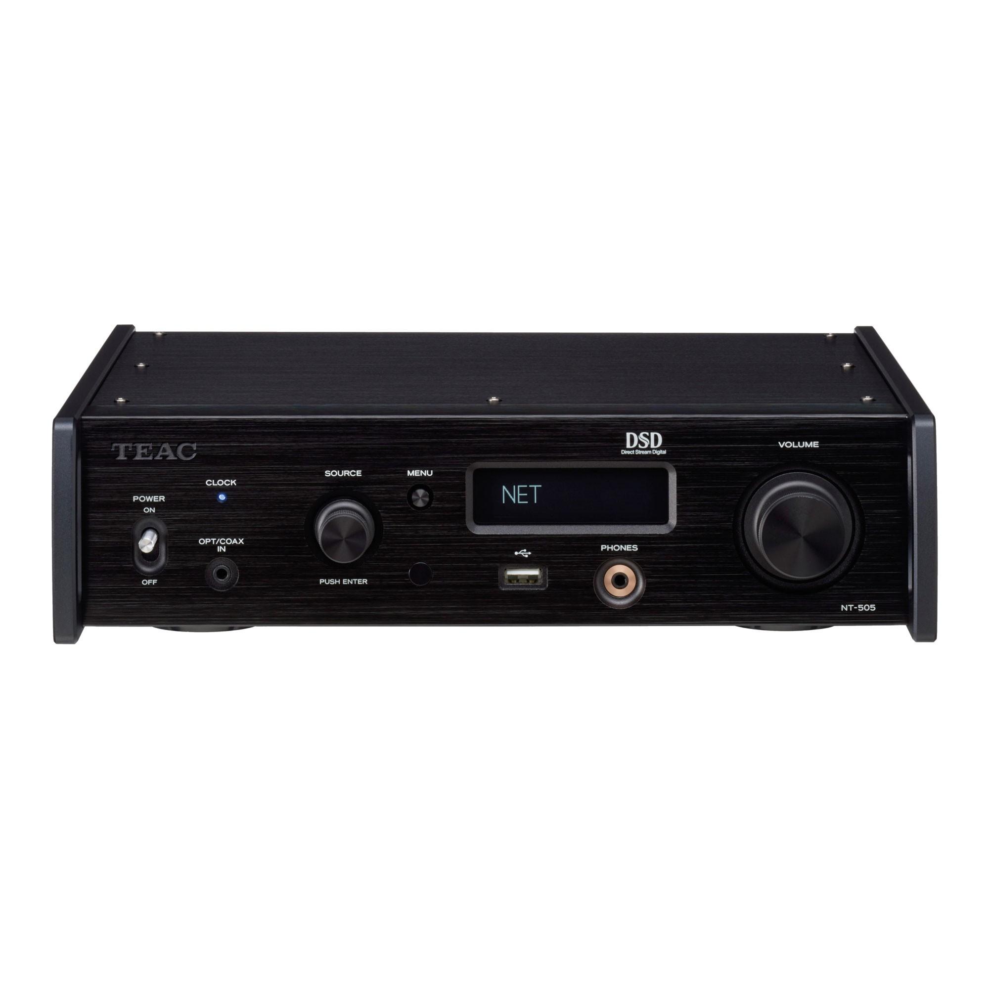 Teac NT-505 schwarz Netzwerk-Player