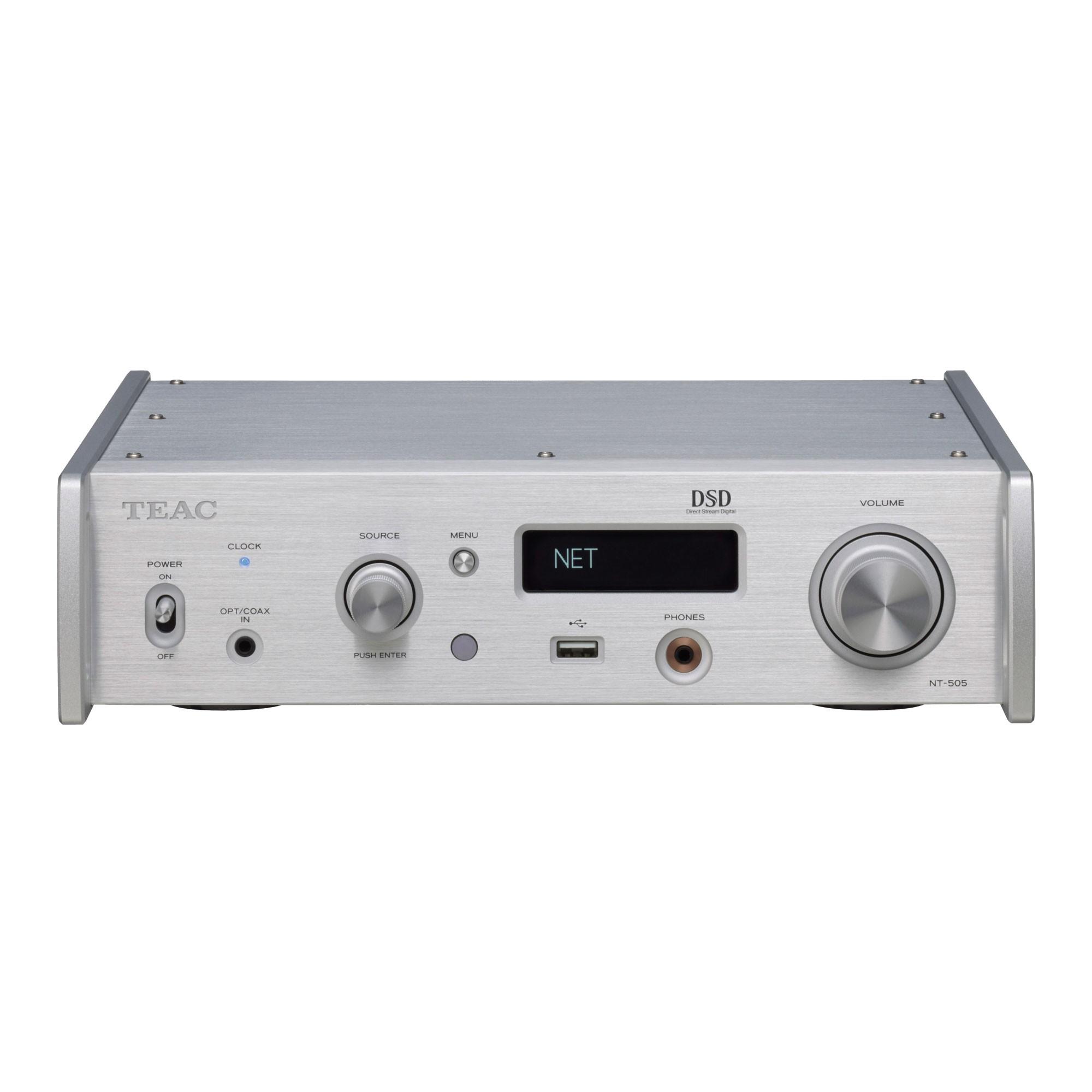 Teac NT-505 silber Netzwerk-Player