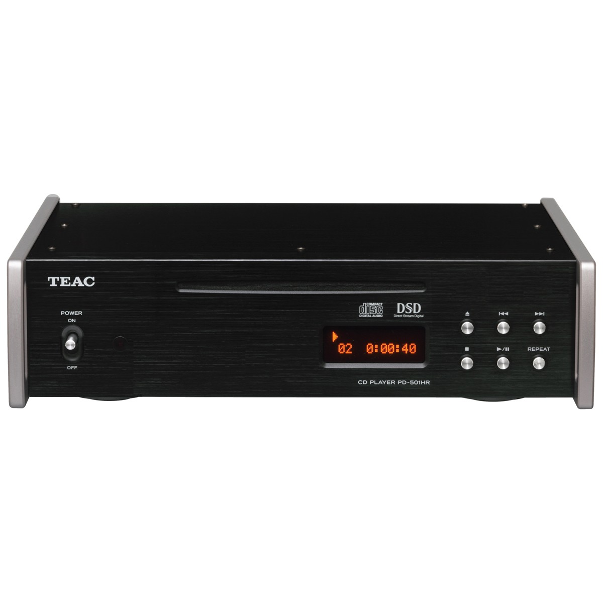 Teac PD-501 HR schwarz CD-Player