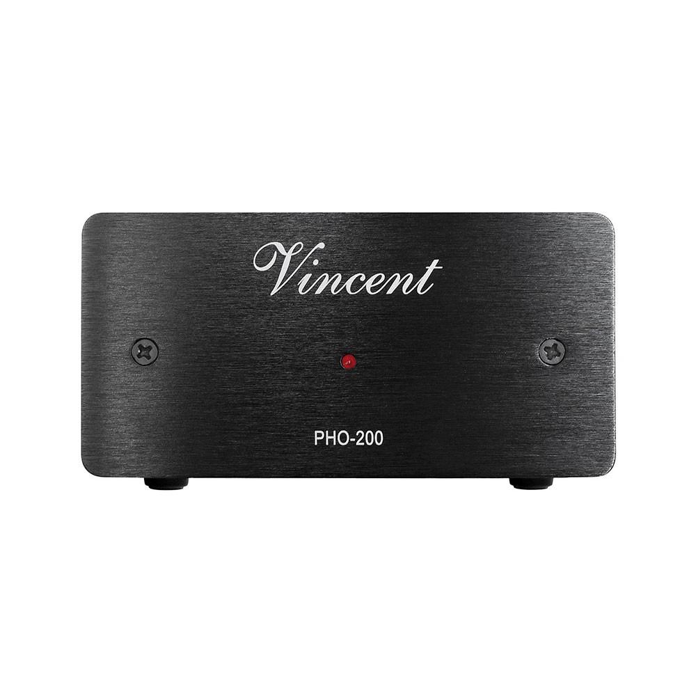 Vincent PHO-200 schwarz Phono Vorverstärker