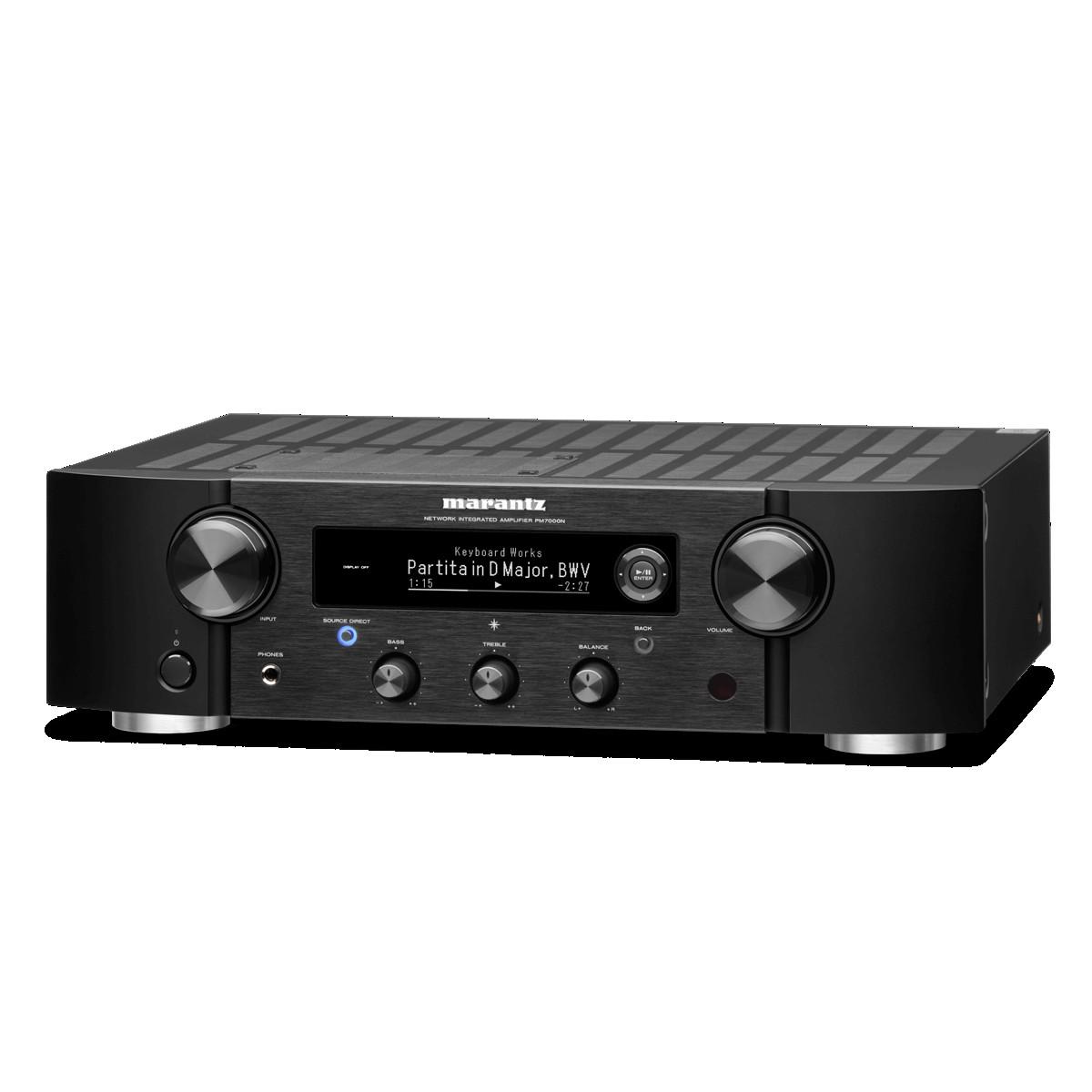Marantz PM 7000N schwarz Netzwerk-Stereo-Vollverstärker
