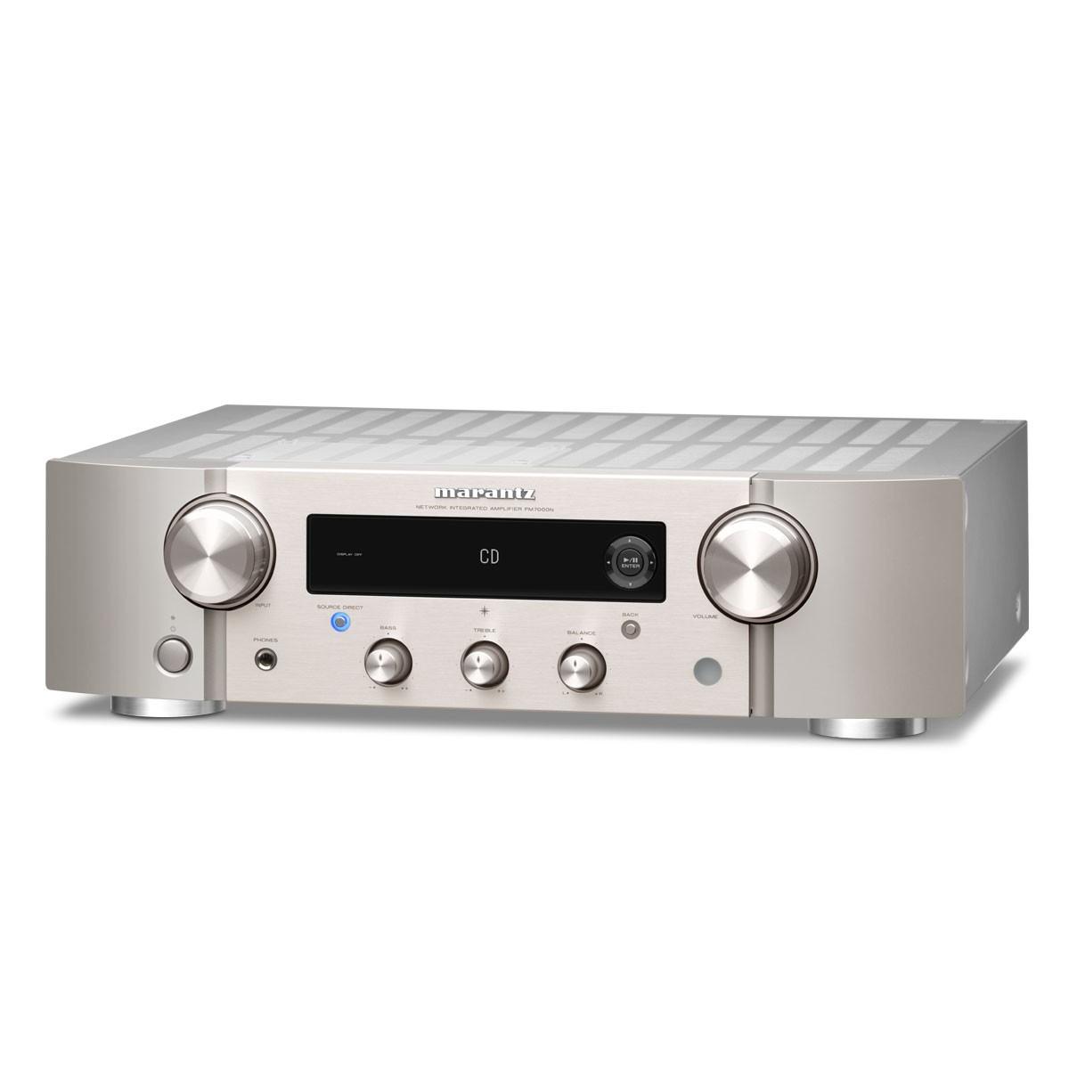 Marantz PM 7000N silber/gold Netzwerk-Stereo-Vollverstärker