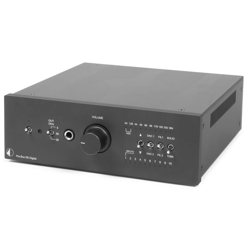 Pro-Ject Pre Box RS Digital schwarz