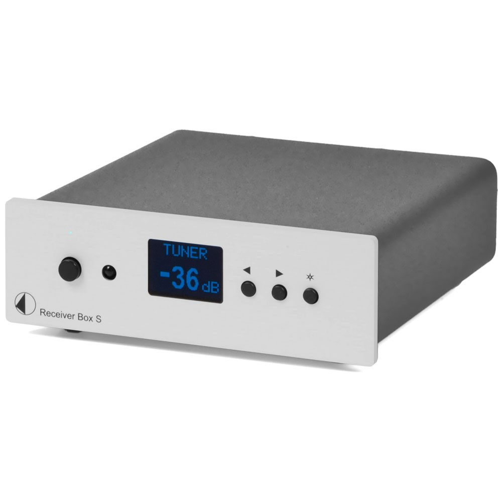 Pro-Ject Receiver Box S silber