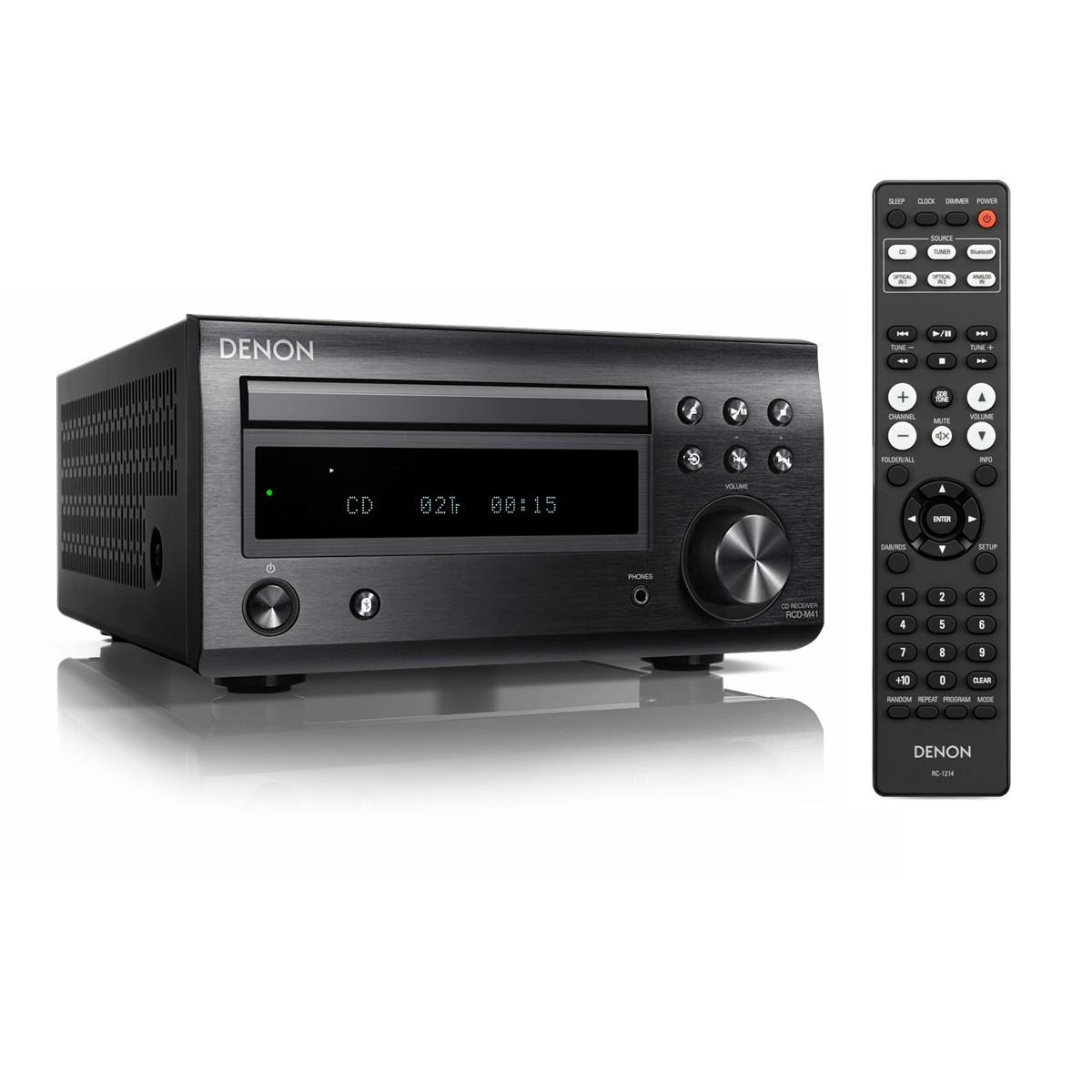 Denon RCD-M 41 DAB schwarz CD-Receiver