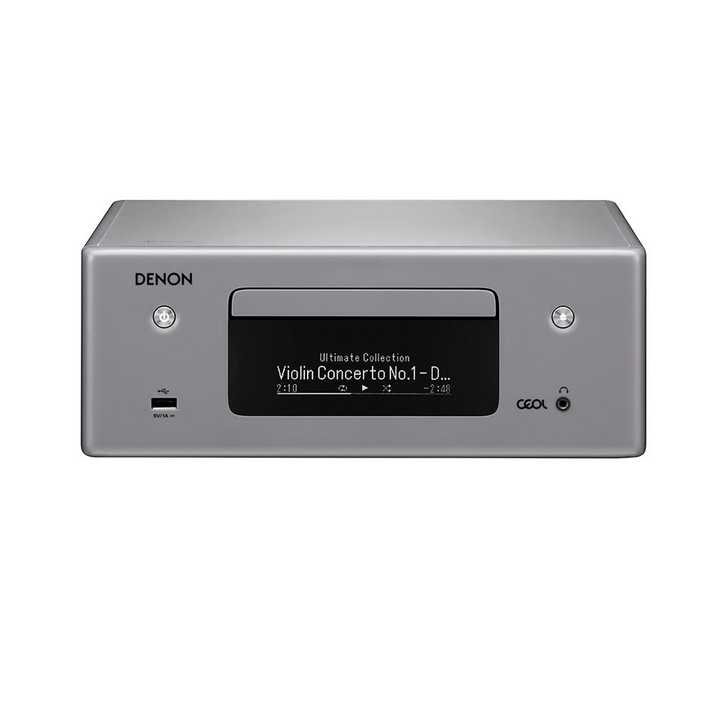 Denon RCD-N 10 grau Netzwerk-Receiver