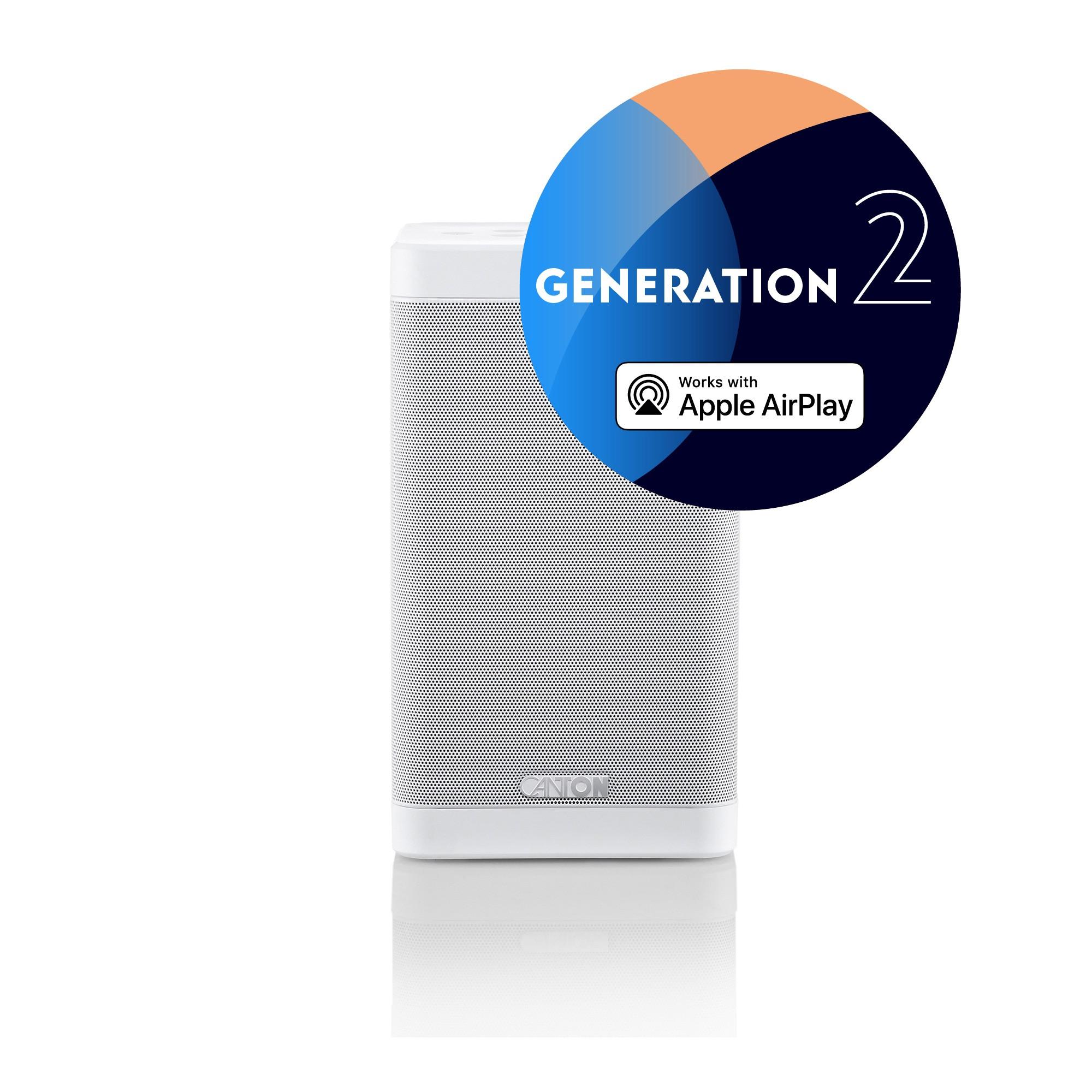 Canton Smart Soundbox 3 Generation 2 weiss Stück Wireless-Lautsprecher