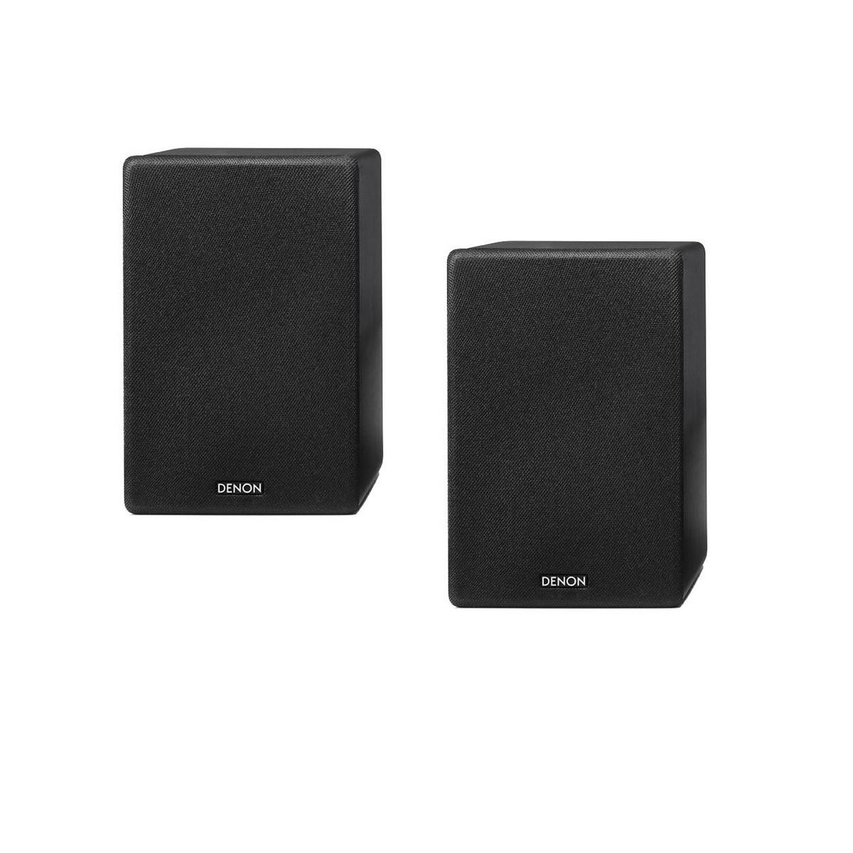 Denon SC-N 10 schwarz Paar Lautsprecher