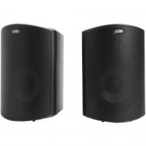 Polk Audio Atrium 4 schwarz Paar Outdoor-/ Regallautsprecher