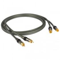 Goldkabel Profi Cinch Stereo Kabel