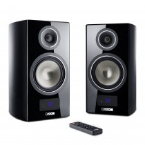 Canton Smart Vento 3 schwarz highgloss Set / Paar Wireless Aktiv-Lautsprecher