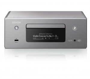 Denon RCD-N 11DAB grau Netzwerk-CD-Receiver