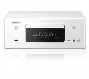 Denon RCD-N 11DAB weiss Netzwerk-CD-Receiver