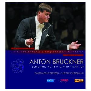 Thorens Anton Bruckner Symphony Nr. 8 in c-moll WAB 108 Doppel LP/Schallplatte