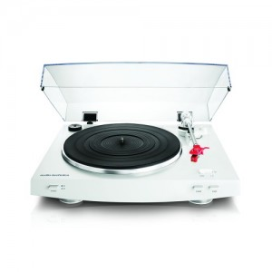 Audio Technica AT-LP 3 weiss Plattenspieler