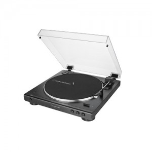 Audio Technica AT-LP 60X BT schwarz Plattenspieler mit Bluetooth