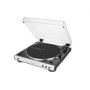 Audio Technica AT-LP 60X BT weiss Plattenspieler mit Bluetooth