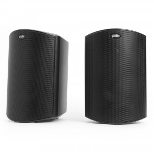 Polk Audio Atrium 5 schwarz Paar Outdoor-/ Regallautsprecher
