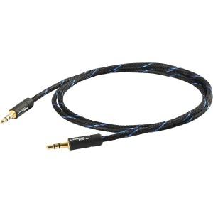 Black Connect Klinke/ Klinke MKII Kabel