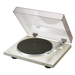 Denon DP-300 F premium silber Plattenspieler