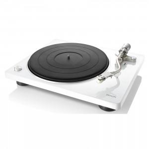 Denon DP-400 weiss Plattenspieler
