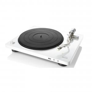 Denon DP-450 USB weiss Plattenspieler