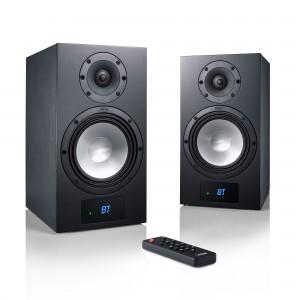 Canton Smart GLE 3 schwarz Set / Paar - Retoure - Wireless Aktiv-Regallautsprecher