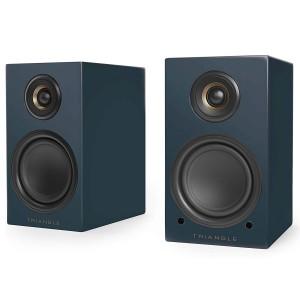 Triangle Elara LN01A blau matt Paar Aktiv-Lautsprecher