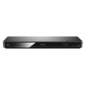 Panasonic DMP-BDT 385 EG silber Blu-ray Player