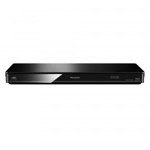Panasonic DMP-BDT 384 EG schwarz Blu-ray Player