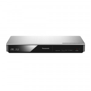 Panasonic DMP-BDT 185 EG silber Blu-ray Player