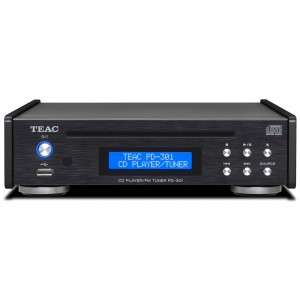 Teac PD-301 DAB-X schwarz CD Player / DAB / UKW Tuner