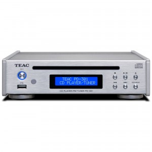 Teac PD-301 DAB-X silber CD Player / DAB / UKW Tuner