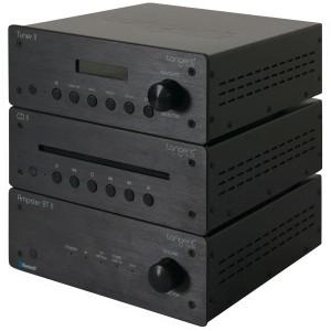 Tangent Hifi II schwarz kompaktes HiFi-System