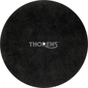 Thorens Ledermatte schwarz Stück