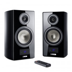 Canton Smart Vento 3 schwarz highgloss Set / Paar Wireless Aktiv-Lautsprecher
