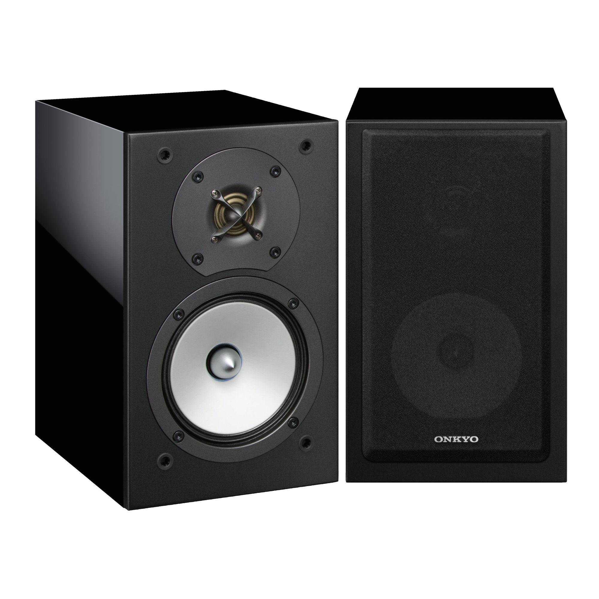 Onkyo D-175 schwarz Paar Lautsprecher 42064