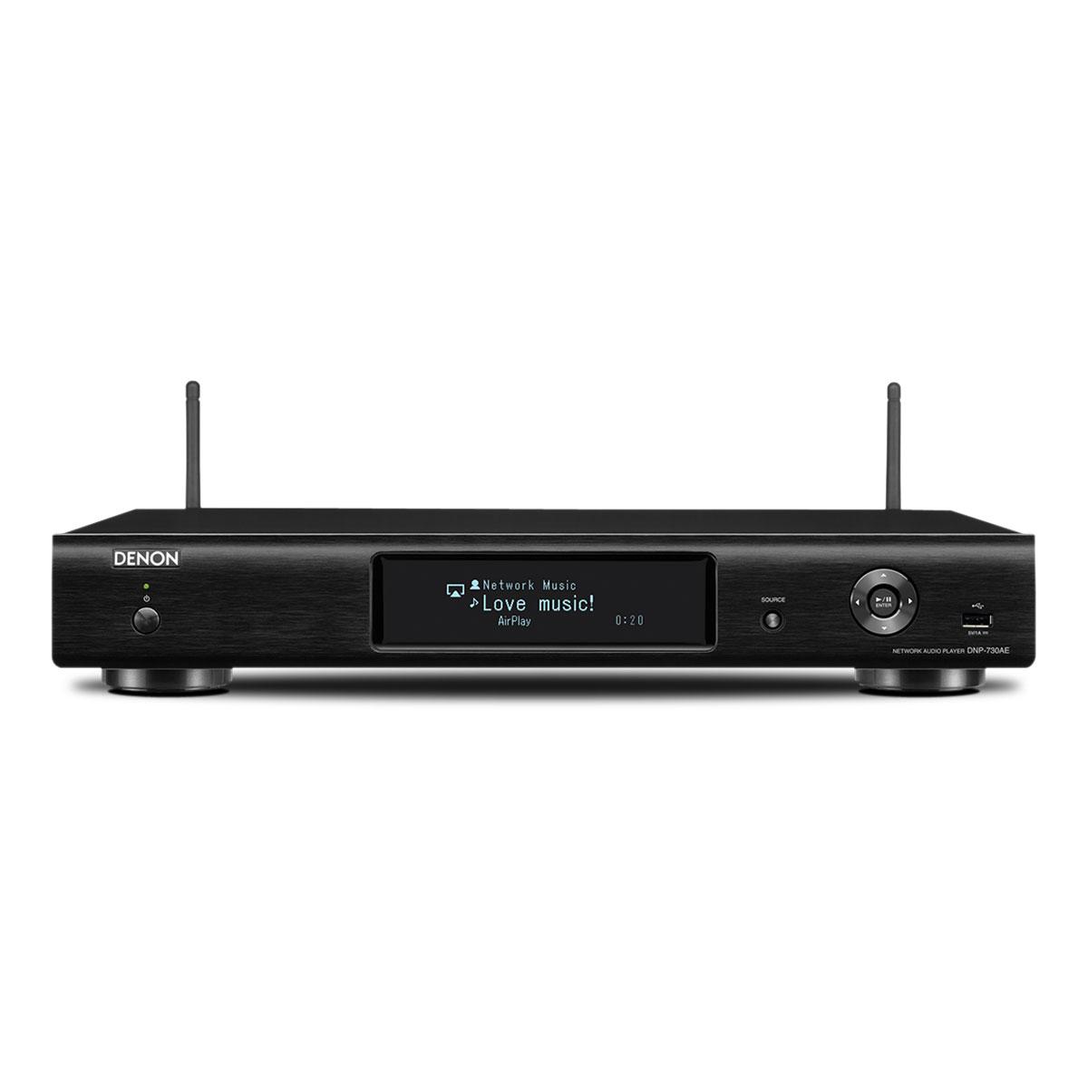Denon DNP-730 AE schwarz Netzwerkplayer