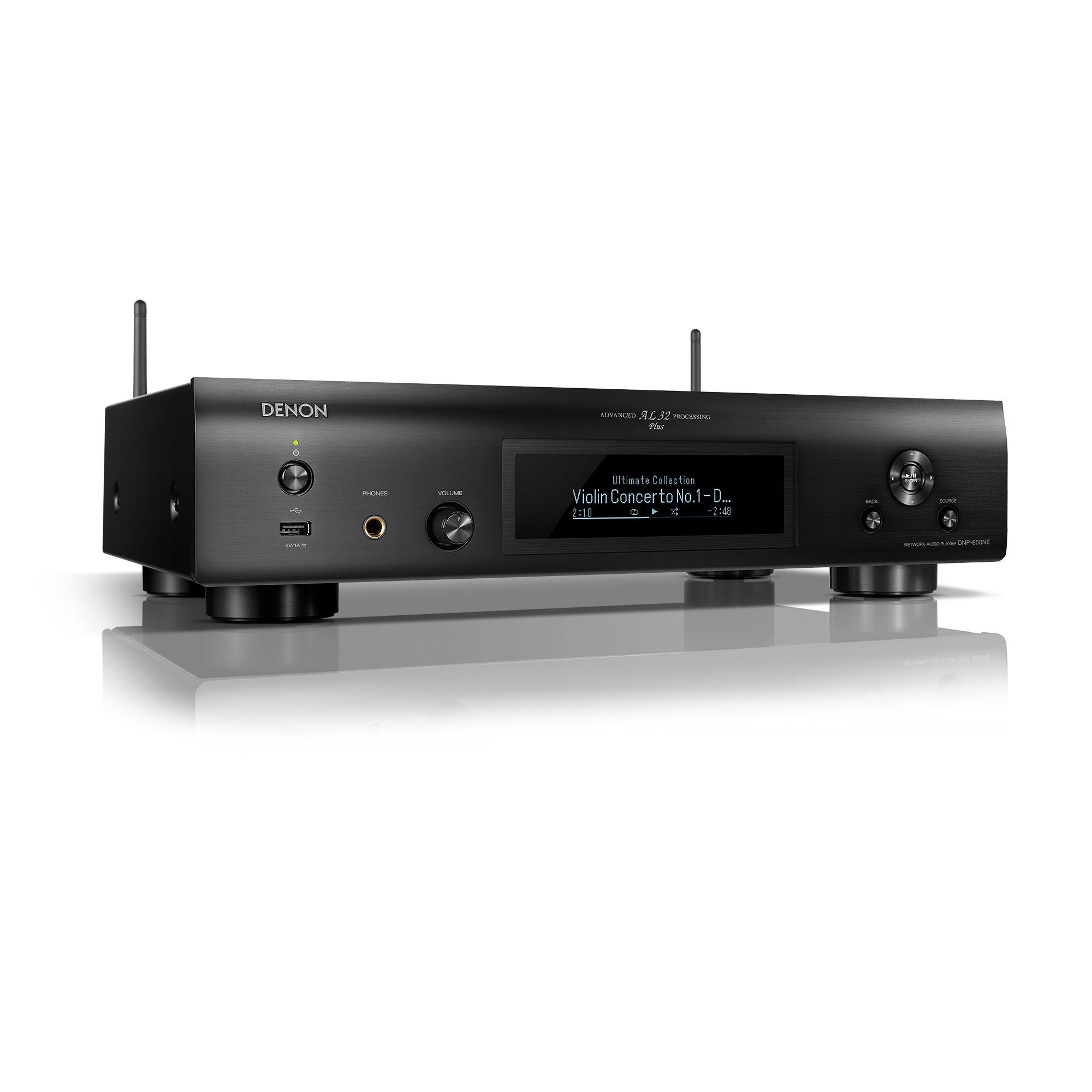 Denon DNP-800NE schwarz Netzwerk-Audioplayer 101085