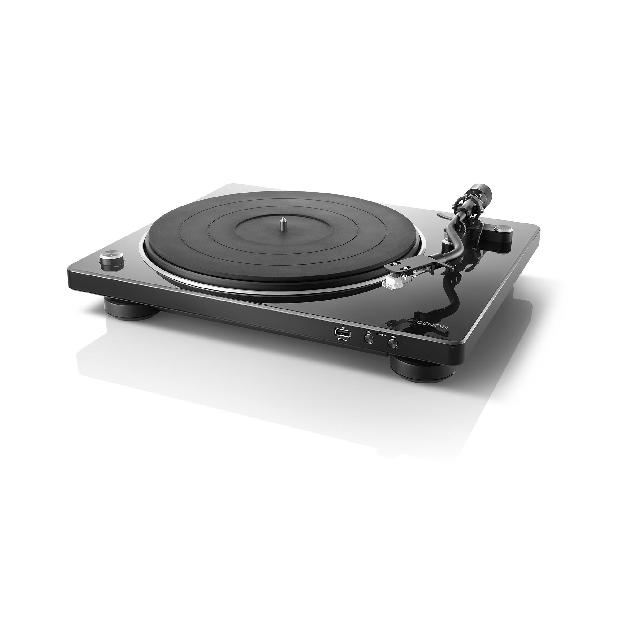Denon DP-450 USB schwarz Plattenspieler 44136