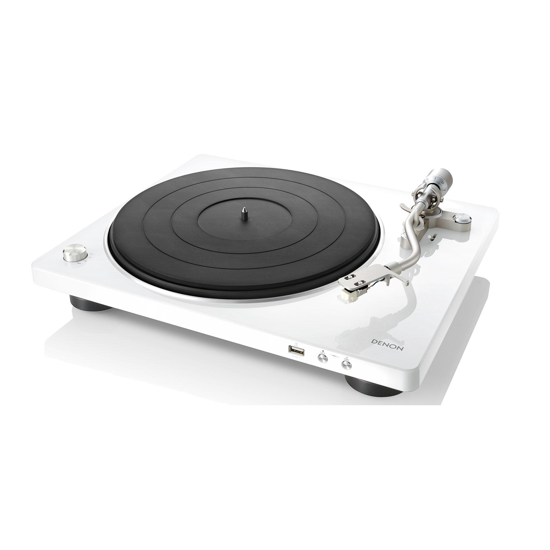 Denon DP-450 USB weiss Plattenspieler 44139